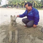 候鸟老人张会忠:趣在沙雕