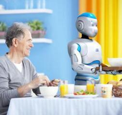 智能机器走进养老院 提高照料水平