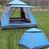 世纪冰川全自动帐篷户外速开3-4人加厚防雨露营 双人野营四面帐篷