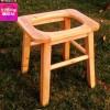 老年人坐便椅实木孕妇坐便器残疾成人坐便凳木质马桶加固防滑家用